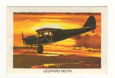 Tip Top Bread - Great Sunblest Air Race Cards #05. Leopard Moth (different)