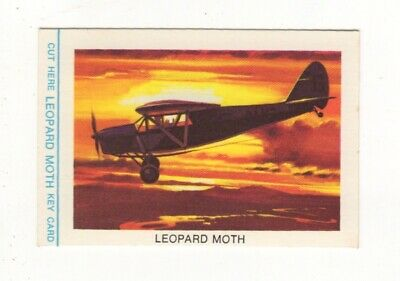 Tip Top Bread - Great Sunblest Air Race Cards #05. Leopard Moth