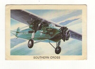 Tip Top Bread - Great Sunblest Air Race Cards #06. Southern Coss (different)