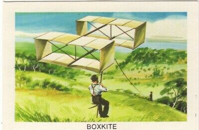 Tip Top Bread - Great Sunblest Air Race Cards #09. Boxkite (different)
