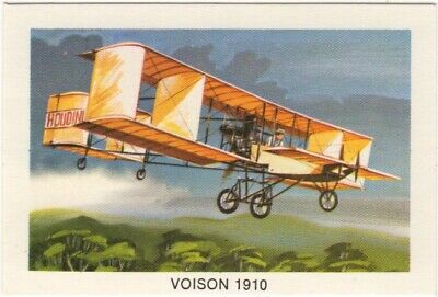 Tip Top Bread - Great Sunblest Air Race Cards #11. Voisson (different)