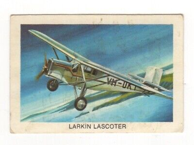 Tip Top Bread - Great Sunblest Air Race Cards #12. Larkin Lasccoter (different)
