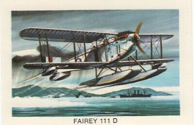 Tip Top Bread - Great Sunblest Air Race Cards #14. Fairey 111D (different)