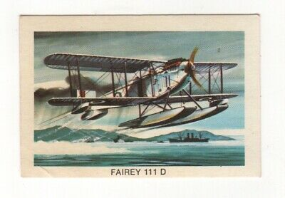 Tip Top Bread - Great Sunblest Air Race Cards #14. Fairey 111D