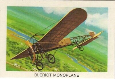 Tip Top Bread - Great Sunblest Air Race Cards #17. Bleirot Monoplane (different)