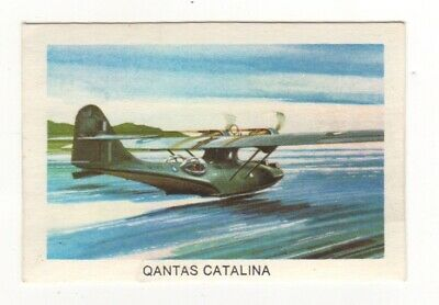 Tip Top Bread - Great Sunblest Air Race Cards #15. Qantas Catalina (different)