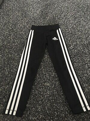 Adidas Girls Leggings - Age 5-6 Years