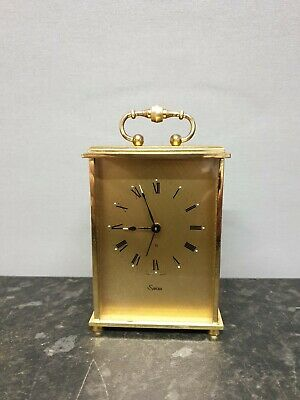 Quality Swiss Vintage Swiza 8 Day Carriage Style Clock
