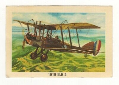 Tip Top Bread - Great Sunblest Air Race Cards #18. 1919 B.E.2 (different)