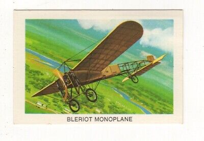 Tip Top Bread - Great Sunblest Air Race Cards #17. Bleriot Monoplane