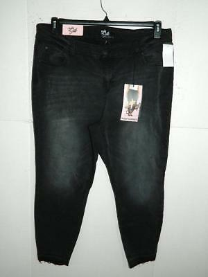 6- Celebrity Pink Womens Plus Mid Rise Ankle Skinny Jeans NWT Size 22 X 26 $64