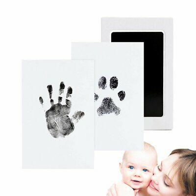 Inkless Wipe Baby Kit Hand Foot Print Gift Keepsake Newborn Footprint Handprint