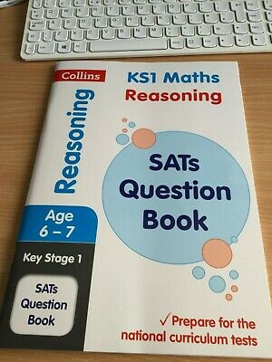 New Key Stage 1 Reasoning Maths Question Book. Sats. Home Learning. Ages 6-7.