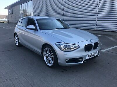 BMW 118D Sport 2015 120D 2.0 Diesel F20 no Reserve accident repaired