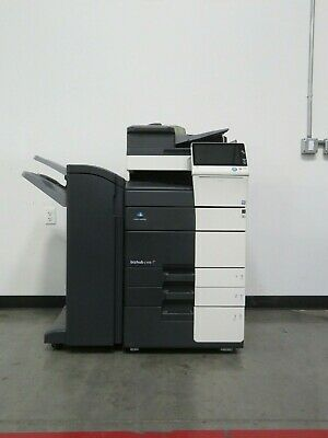 Konica Minolta Bizhub C458 color copier Only 125K meter 45 page per minute color