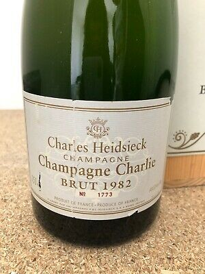 Magnum Charles Heidsieck 1982 Brut + De Photos Dispo
