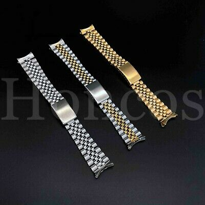 13 17 19 20 21MM President jubilee Watch Band Bracelet Fits for Tudor Stainless