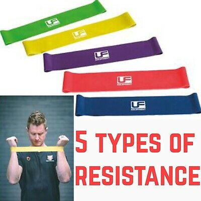 Resistance Loop Bands Mini Natural Latex Exercise Yoga Core Balance Home Workout
