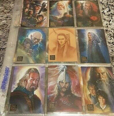Lord Of The Rings Masterpiece 2 Trading Cards
