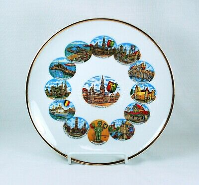 Collectible Souvenir Plate Bruxelles 7.5""