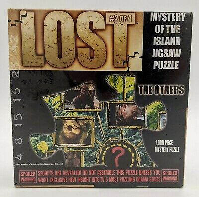 Lost Mystery Of The Island Jigsaw Puzzle The OTHERS #2 Of 4 New Unopened TV Show