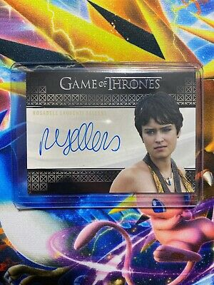 Game Of Thrones Rosabell Laurenti Sellers As Tyene Sand Autograph Card