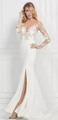 Wtoo Watters Wedding Dress Ivory 12701 US10 UK14 RRP£1500