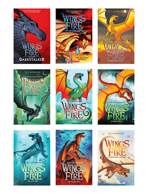Wings of fire Series Books 1-13 By Tui T. Sutherland (audiobook MP3)