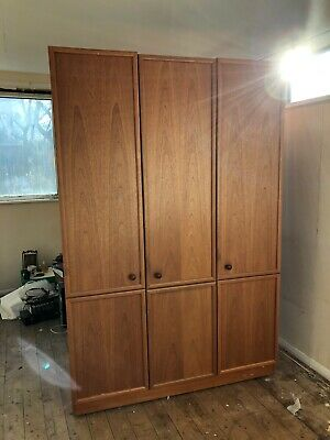 Retro G Plan 3 Door Wardrobe