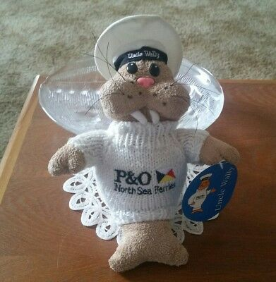 P & O North Sea Ferries Uncle Wally The Walrus Soft Toy
