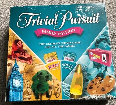 Trivial Pursuit Family Edition Parker Hasbro