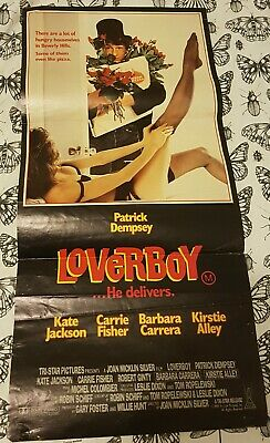 Vintage Loverboy Daybill Movie Poster