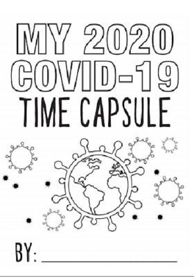Covid Corona Time Capsule Worksheets Printed Workbooks Home Schooling Learning