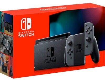 Nintendo Switch 32GB Gray Console V2 (with Gray Joy-Cons)