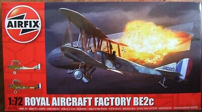 Eduard Zoom SS553 1//72 Royal-Aircraft-Factory BE.2c Nightfighter Airfix
