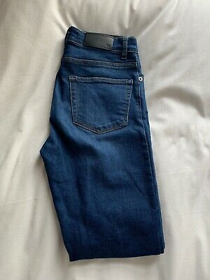 Whistles Blue Skinny Jeans Size 26