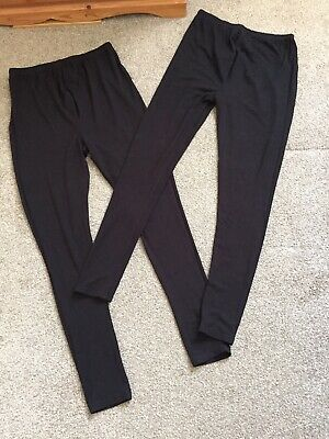 2 Pair Bundle Maternity Leggings Sz M, Newlook