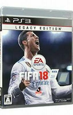 FIFA 18 Legacy Edition PS3 Electronic Arts Sony PlayStation 3 From Japan