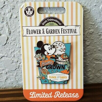 Disney Parks 2020 EPCOT Flower &Garden Festival Pin Mickey Mouse Limited Release