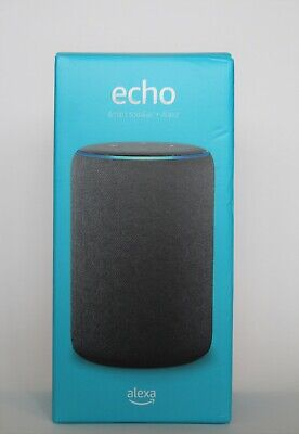 Amazon Echo (3rd Generation) Smart Speaker and Alexa - Charcoal