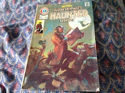 Charlton Comic. Baron Weirwulf's Haunted Library. American Issue No 23. 1975