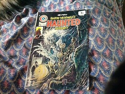 Charlton Comic. Baron Weirwulf's Haunted Library. American Issue No 21. 1975
