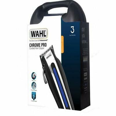 Wahl 79602-800X Chrome Pro Corded Hair Clipper for Men