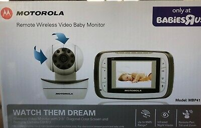 Motorola mbp41 remote wireless video baby monitor cameras- 2 cameras only