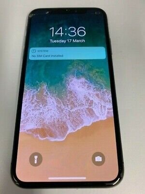 Apple iPhone X - 64GB - Space Grey (Unlocked) Sim Free Smartphone UK