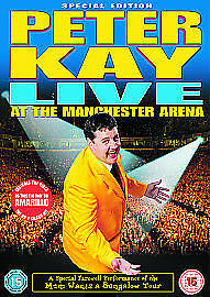 Peter Kay - Live At Manchester Arena (DVD, 2005) dvd only
