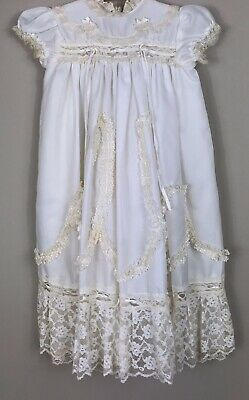 Child's Vintage Christening Gown and Slip