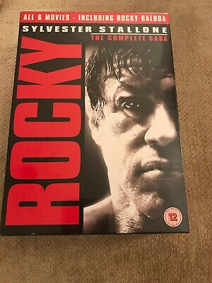 Rocky - The Complete Saga - New And Sealed