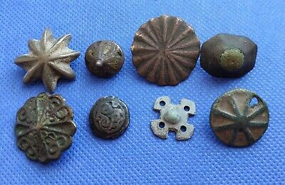 ancient bronze jewelry patches for clothes Viking Kiev Rus