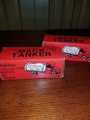 UNOPENED /NIB 1985 TEXACO 1926 Mack Tanker truck #2 in ERTL series